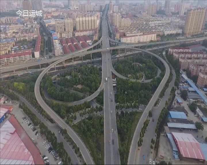 微拍運城   城市道路建設