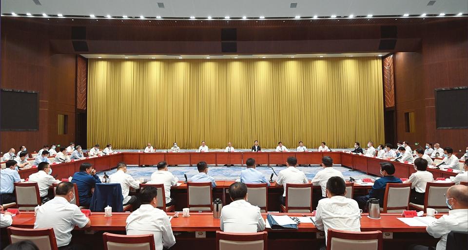全省民營企業家座談會在太原召開
